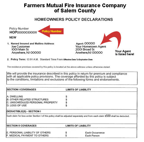 Farmers Homeowners Insurance >> Farmers Of Salem Contact Us
